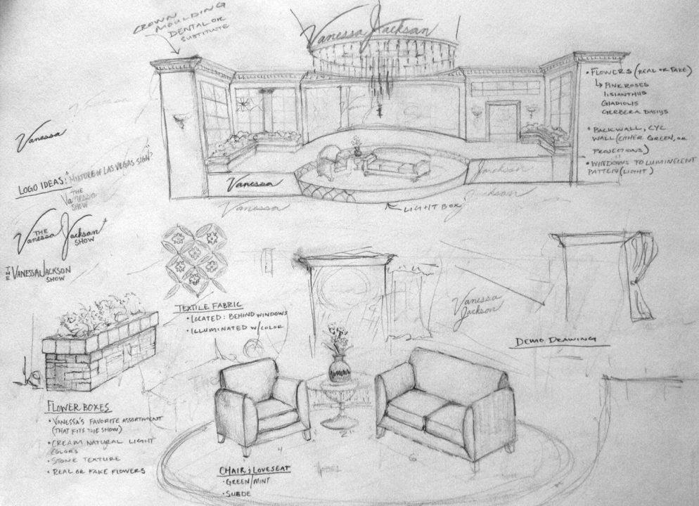 Vanessa Jackson Show Concept Design